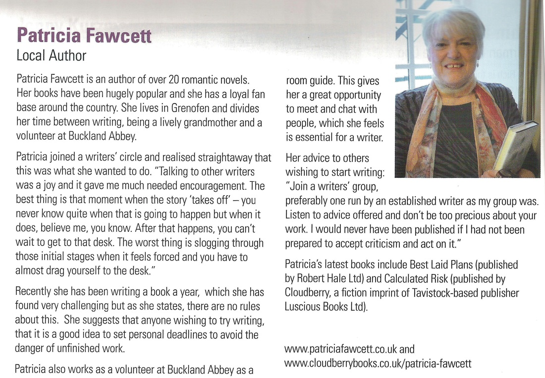 Patricia Fawcett's interview in Tavy Links
